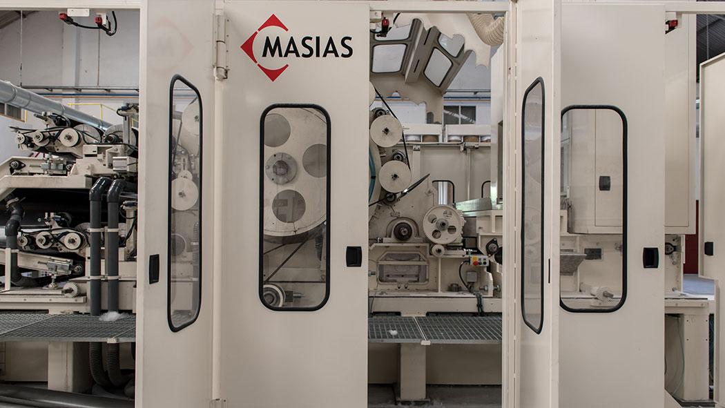 Masias Maquinaria carding machine