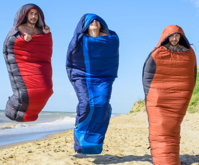 rellenos para sacos de dormir de todos tipos